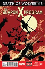 DEATH OF WOLVERINE THE WEAPON X PROGRAM #1