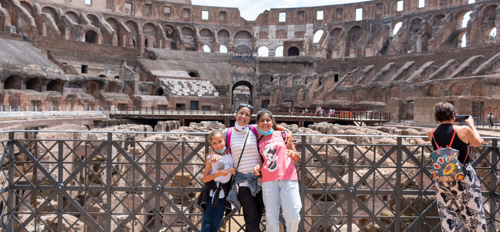 Mamma e figlie al Colosse - tour Gladiatori estate