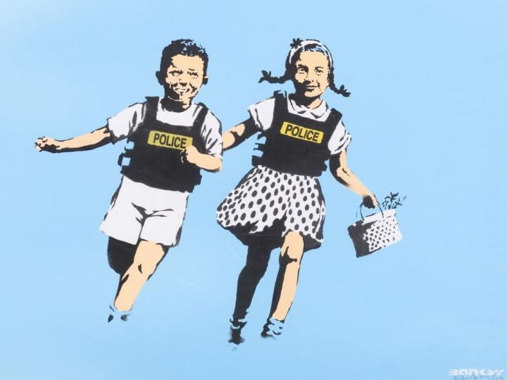 © Banksy, Chiostro del Bramante