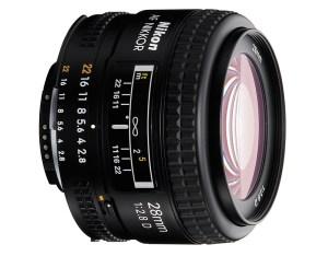 Nikon 28mm f 2.8 D