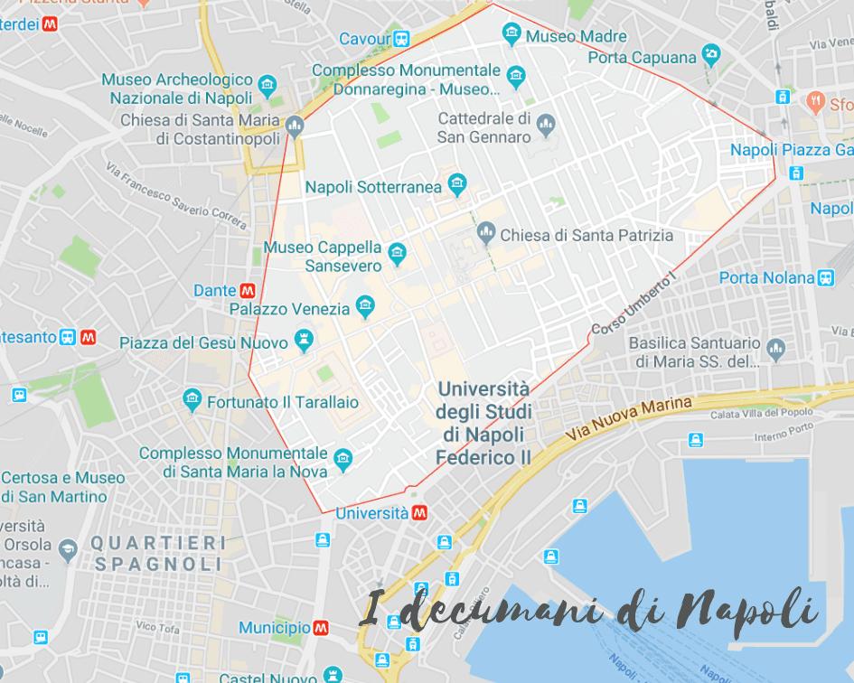 Cosa vedere nel centro storico di Napoli