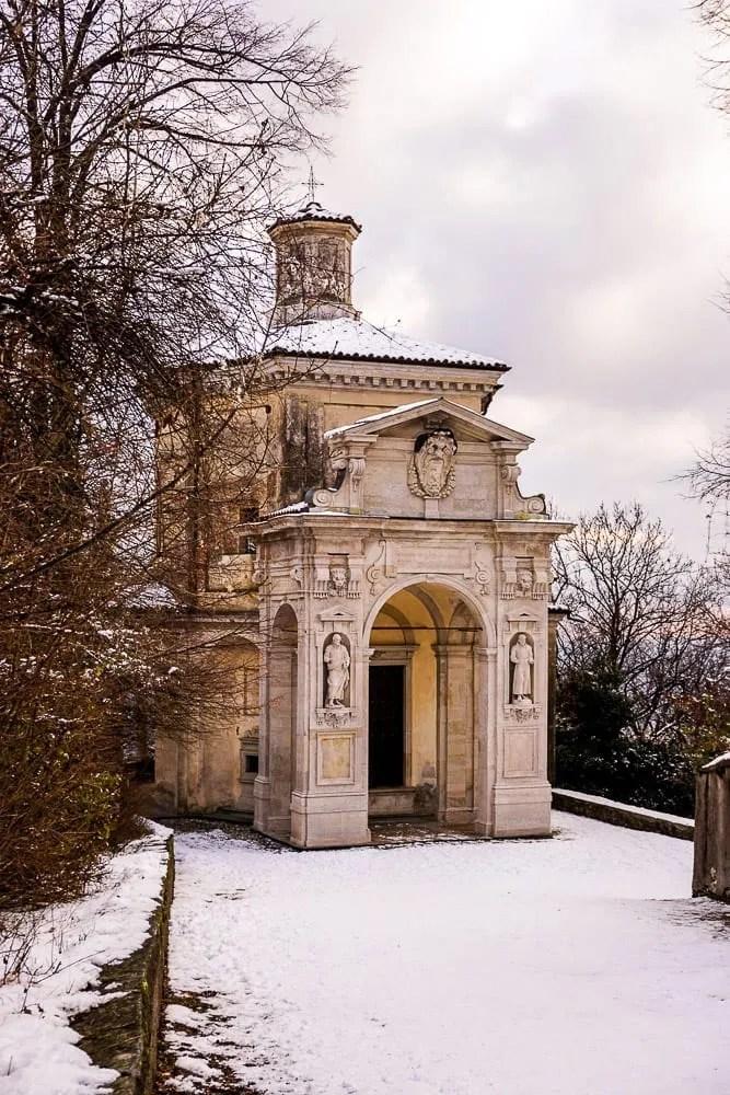 La via delle Cappelle Sacro Monte di Varese