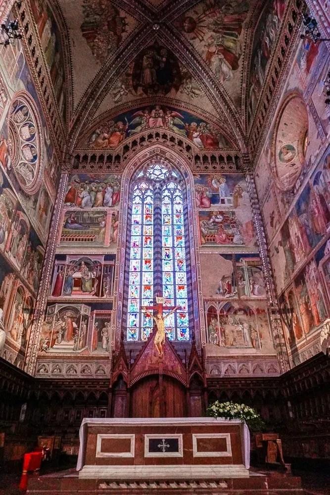 Interno Duomo di Orvieto