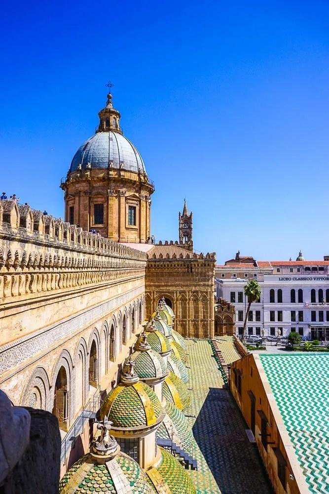 Visita Tetti Cattedrale di Palermo