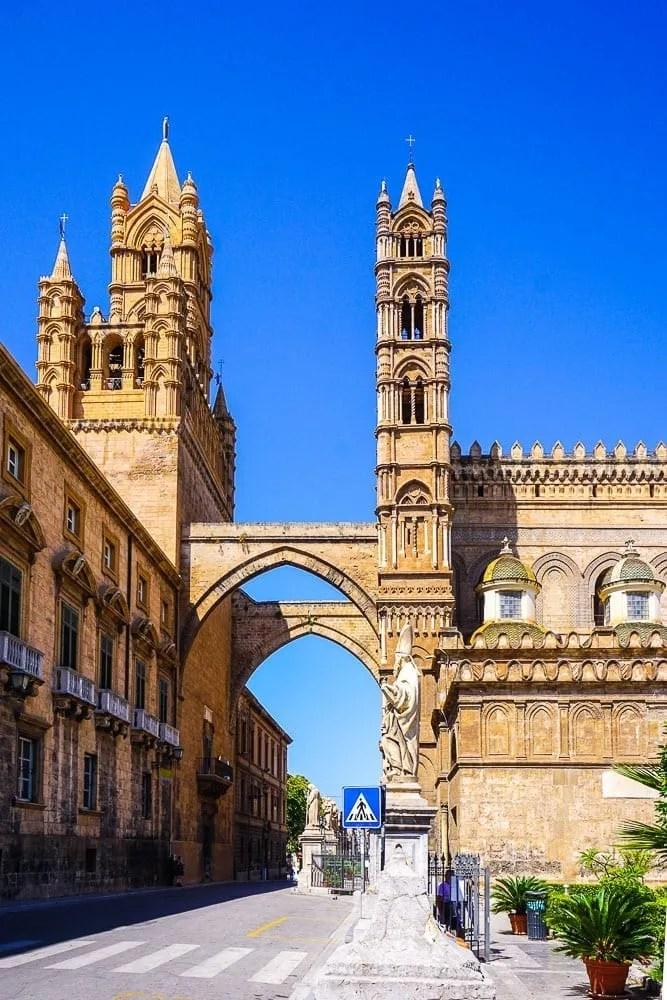 Torri Duomo di Palermo