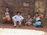 Gubbio - pausa nella piazza