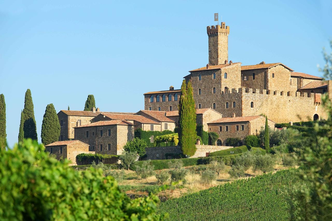 Just Checked Out: Castello Banfi Il Borgo, Montalcino