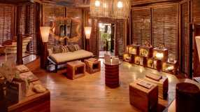 Reception at Rainforest Spa