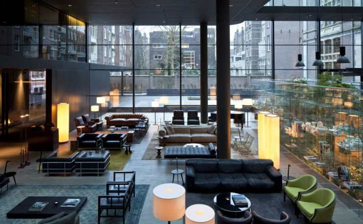 Postcard From Amsterdam: The Conservatorium Hotel