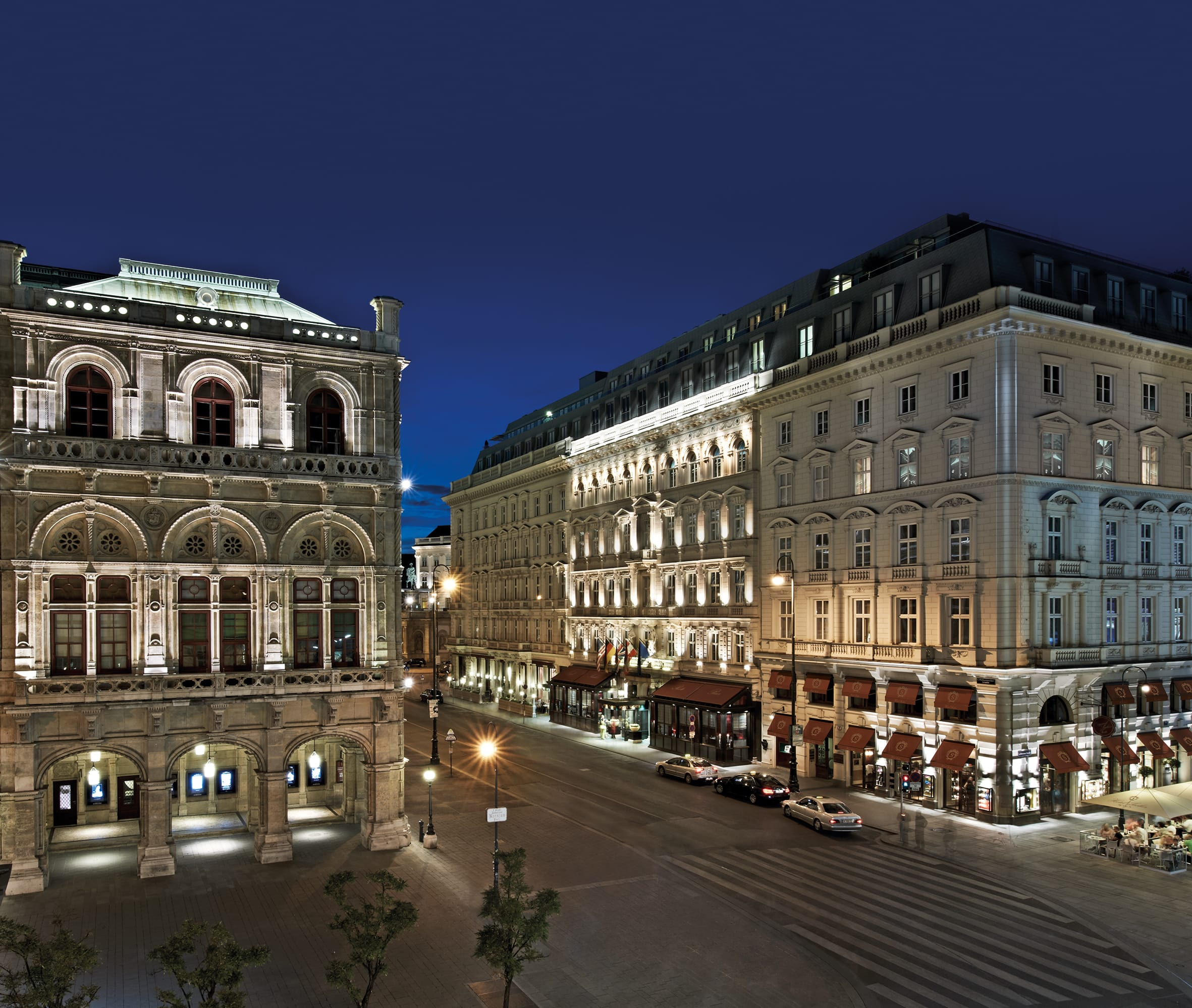Postcard From: Hotel Sacher, Vienna