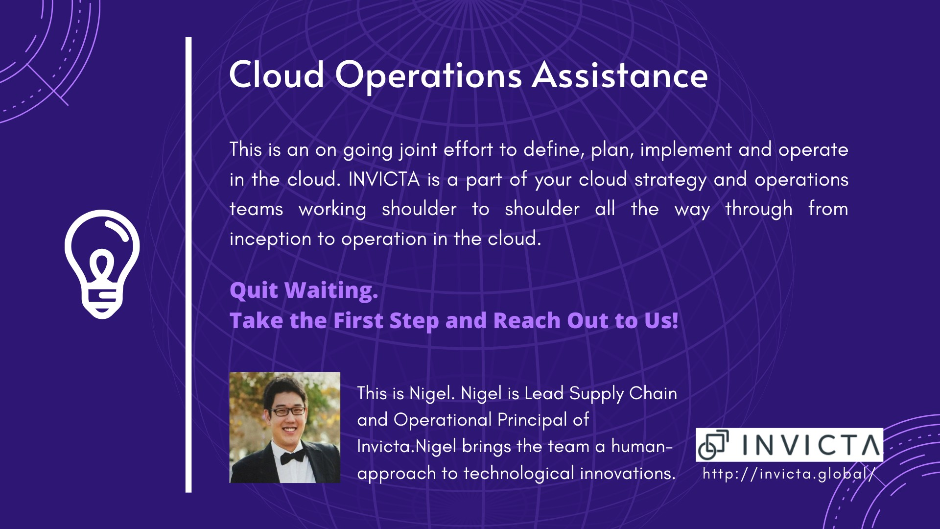 Innovation - Cloud Assistance