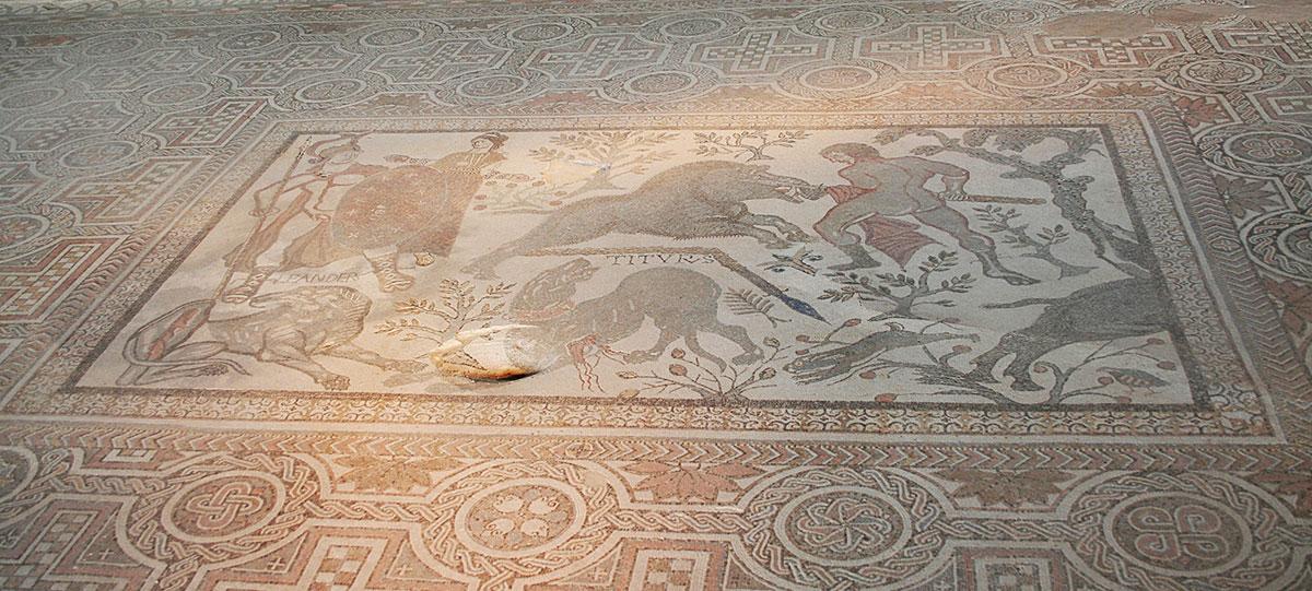 Recepción de la Villa Romana de Carranque