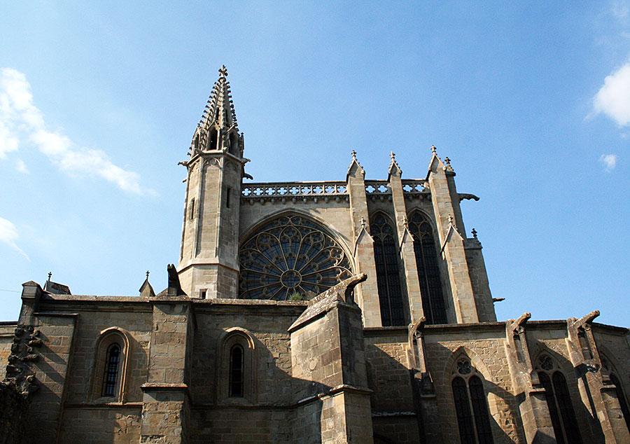 Basilica Saint-Nazaire en Notre Dame.