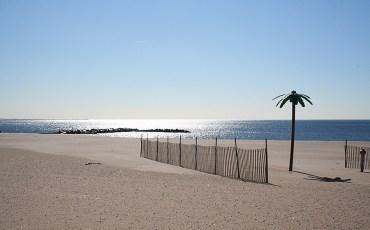 invierno en la playa