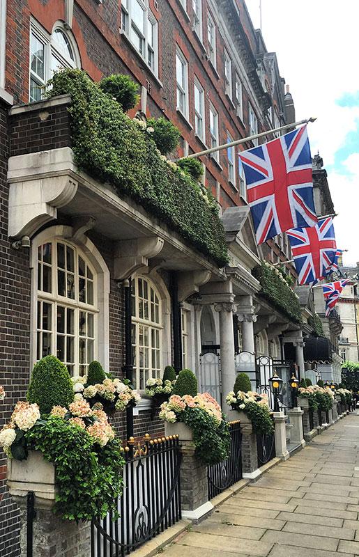 Belgravia, uno de los barrios más tranquilos del centro de Londres