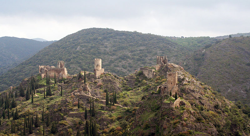 Castillos de Lastours.