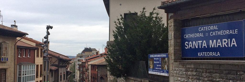 Abierto por obras, Santa María de Vitoria