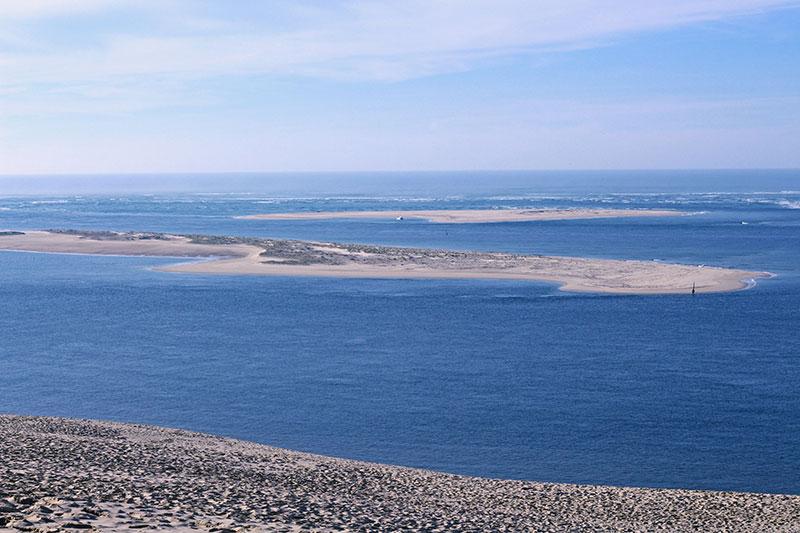 La bahía y el banco de Arguín