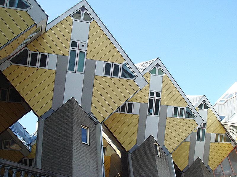 Casas Cubo exponentes de laarquitectura moderna en Rotterdam