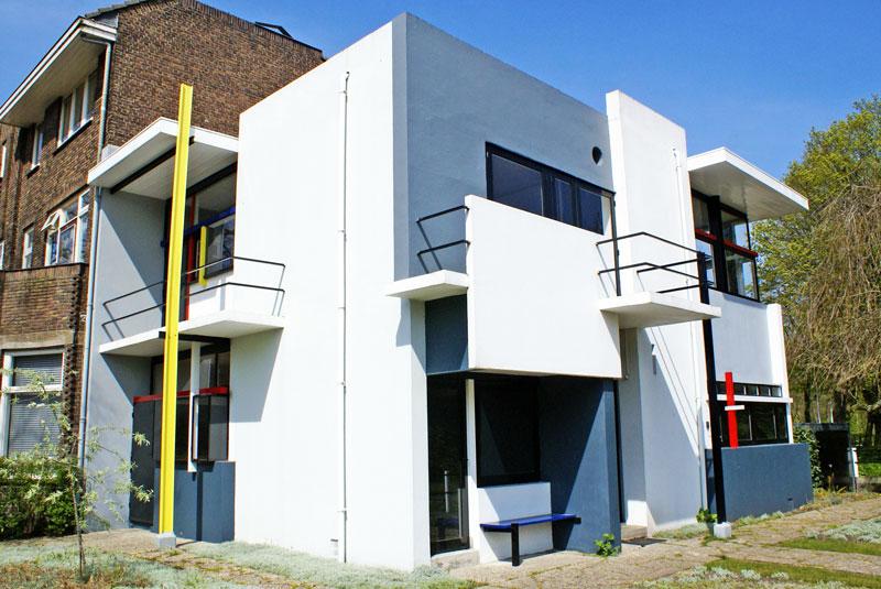 Rietveld, arquitectura moderna en Utrecht