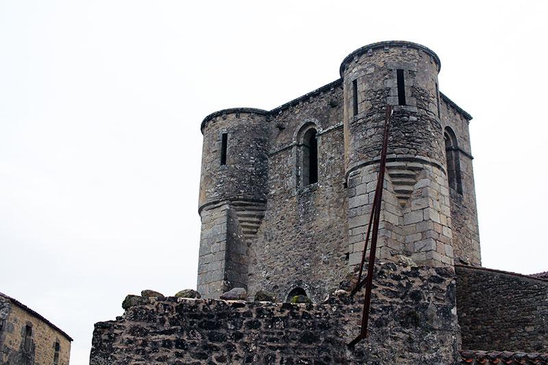 Torre de la iglesia de Oradour-sur-Glane
