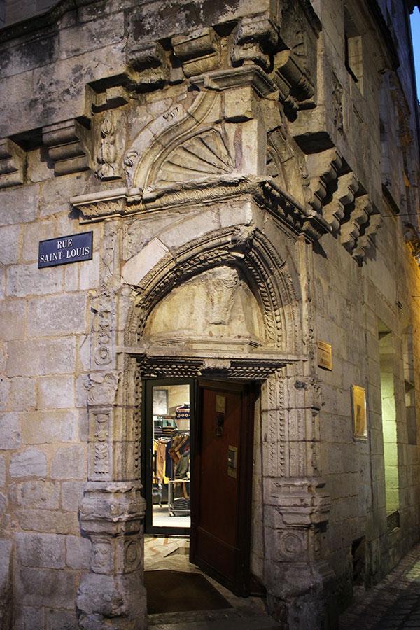 Casa del Pastelero, centro de Périgueux.