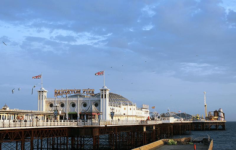 Brighton Pier, sin duda una de las cosas más chulas qué ver en Brighton