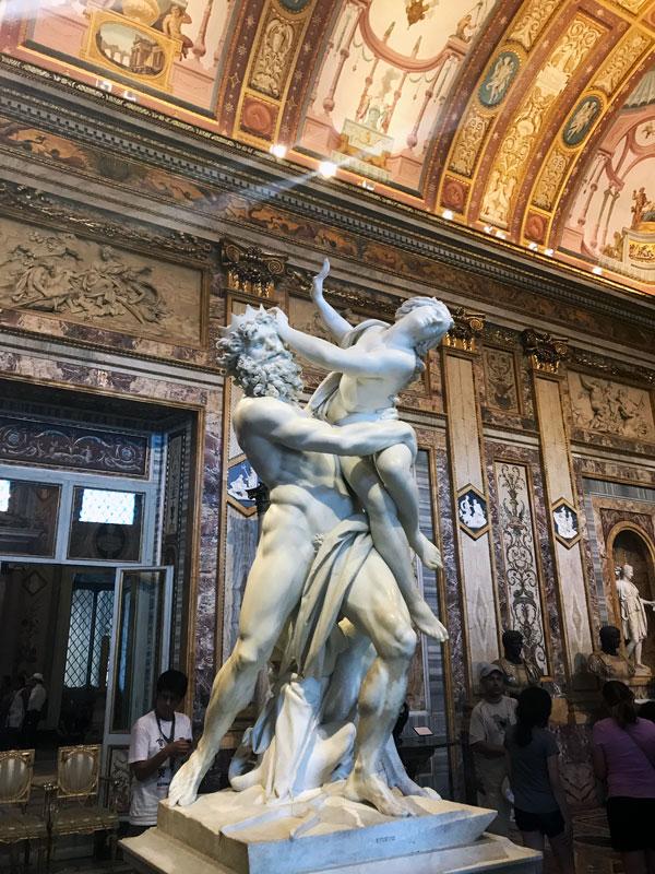 El rapto de Proserpina, Bernini
