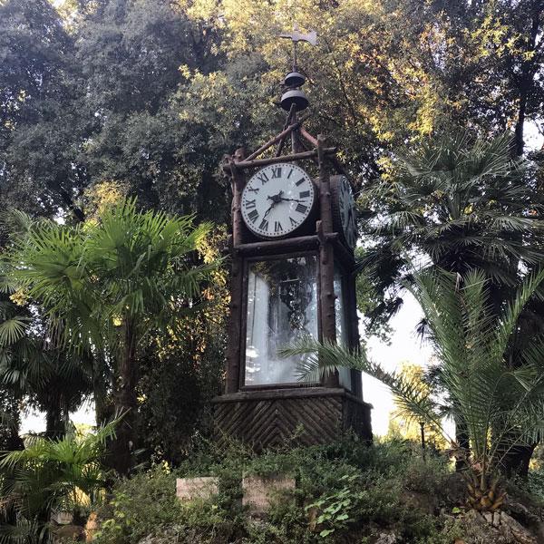 El reloj de agua de Pincio