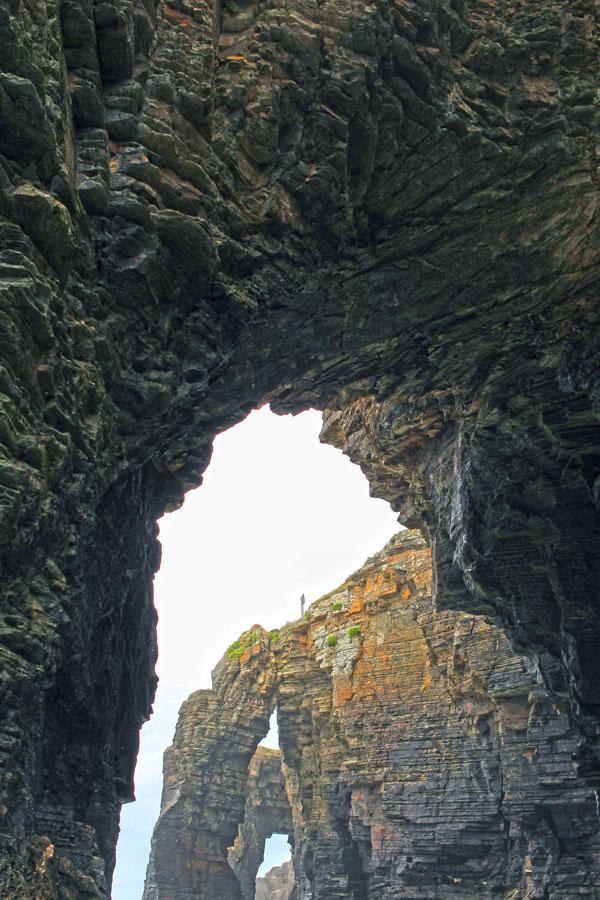 Galería de Arcos en la Playa de las Catedrales