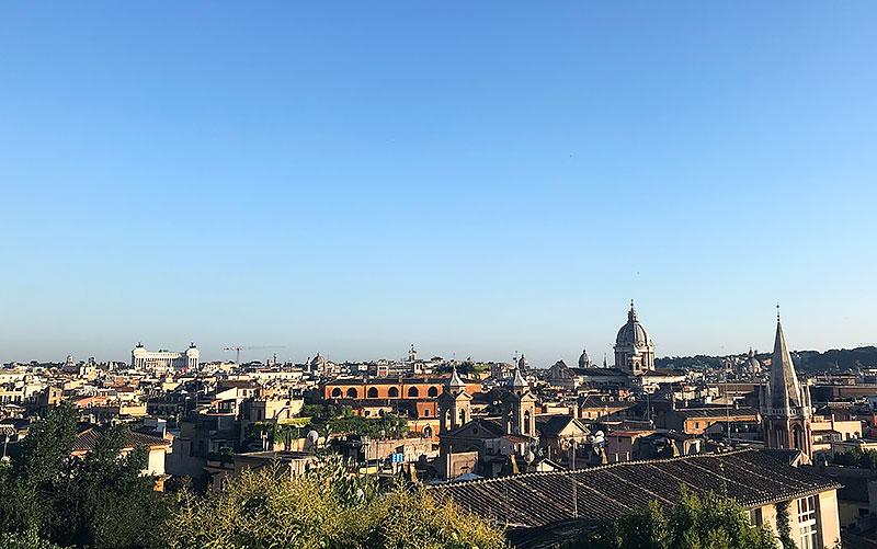 Mirador de Pincio - que hacer gratis en Roma