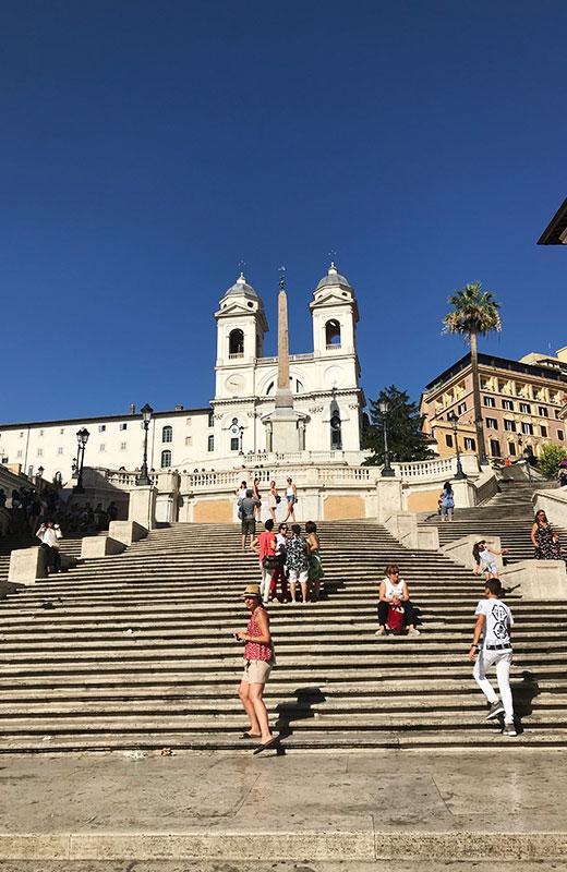 Piazza Spagna - que hacer gratis en Roma