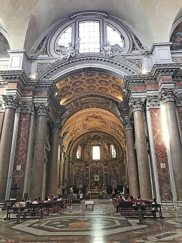Santa María de los Ángeles - que hacer gratis en Roma