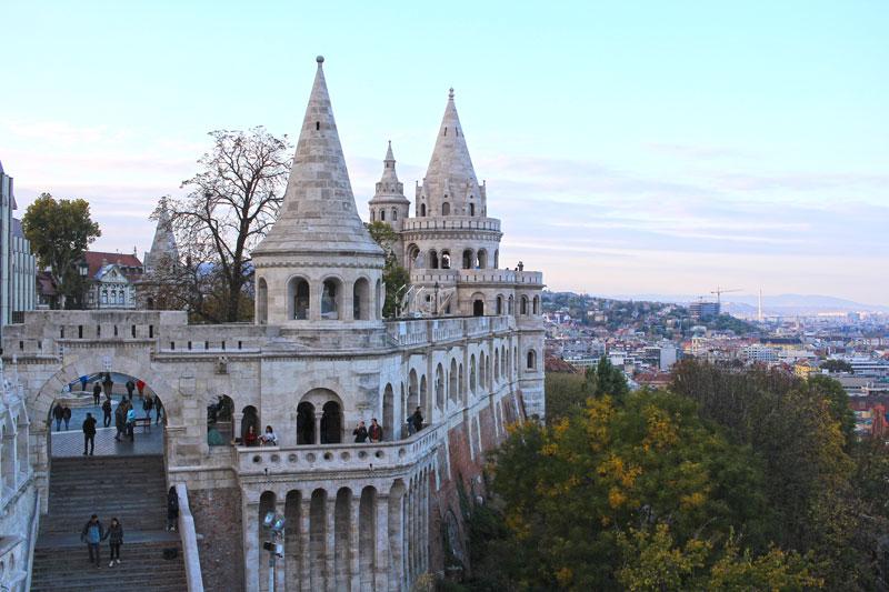 Bastión de Pescadores - Que ver en Budapest