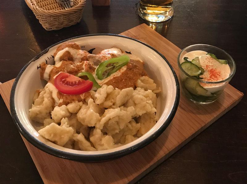 Comer en Budapest, gastronomía húngara y más.