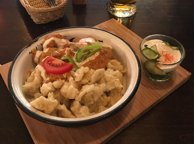 Kazimir Bistro, donde comer en Budapest