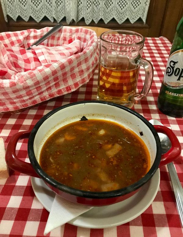Kisharang Restaurant, donde comer en Budapest