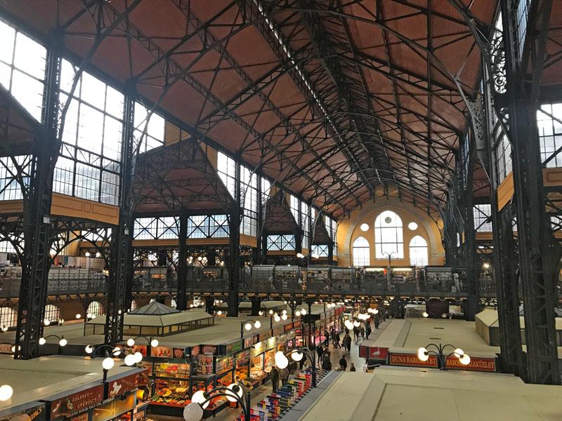 Mercado central, qué ver en Budapest
