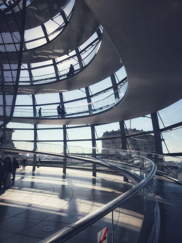 Cúpula de Reichtag, una de las cosas más guays que ver en Berlín gratis.