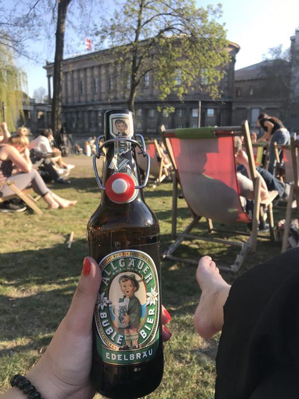 Parque James Simon en Berlín
