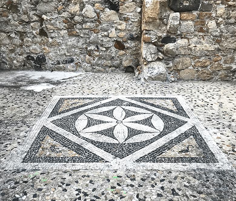 Mosaico griego en Taormina