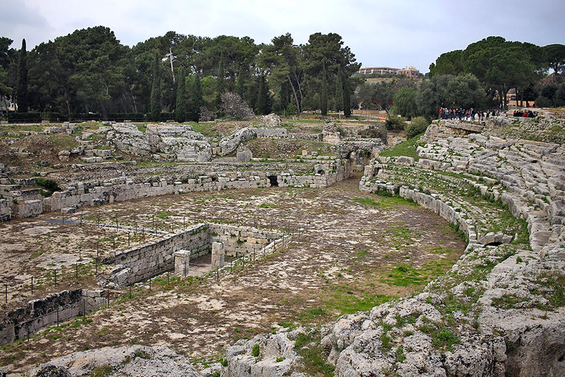 anfiteatro romano siracusa