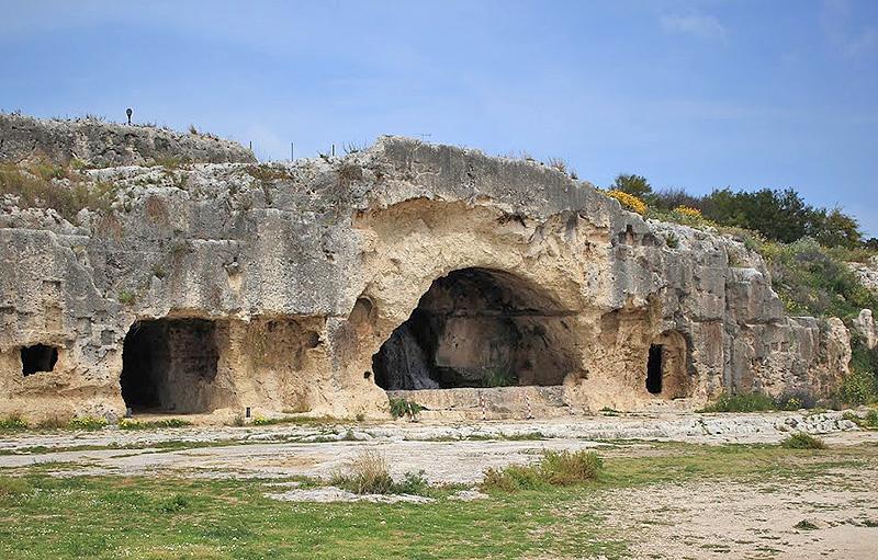 Ninfeo teatro griego Siracusa