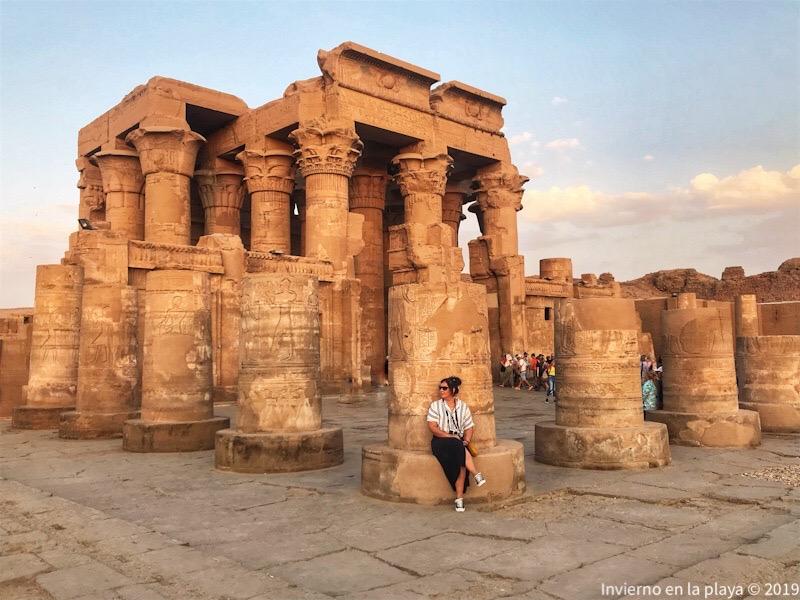 Templo de Kom-Ombo, junto con Edfu dos paradas imprescindibles en tu viaje.