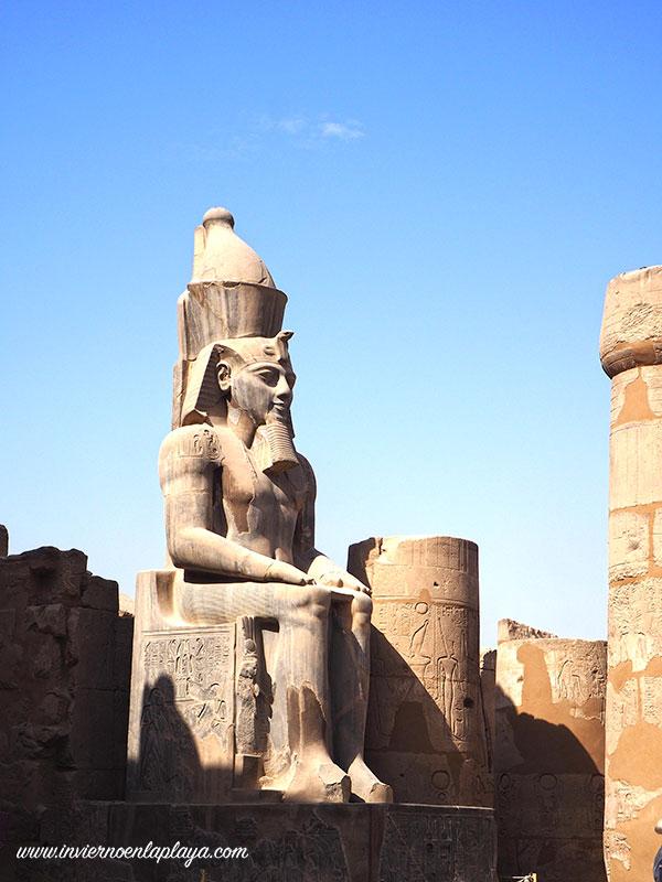 Ramses, no lo dejas de ver en Luxor