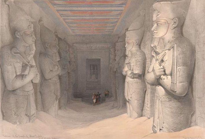 Historia del descubrimiento de Abu Simbel.