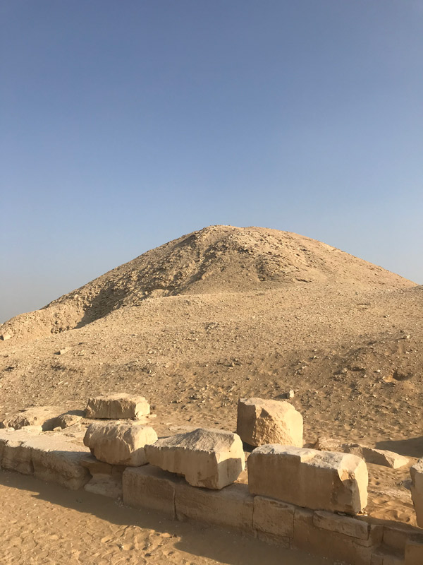 Pirámide de Teti en Saqqara