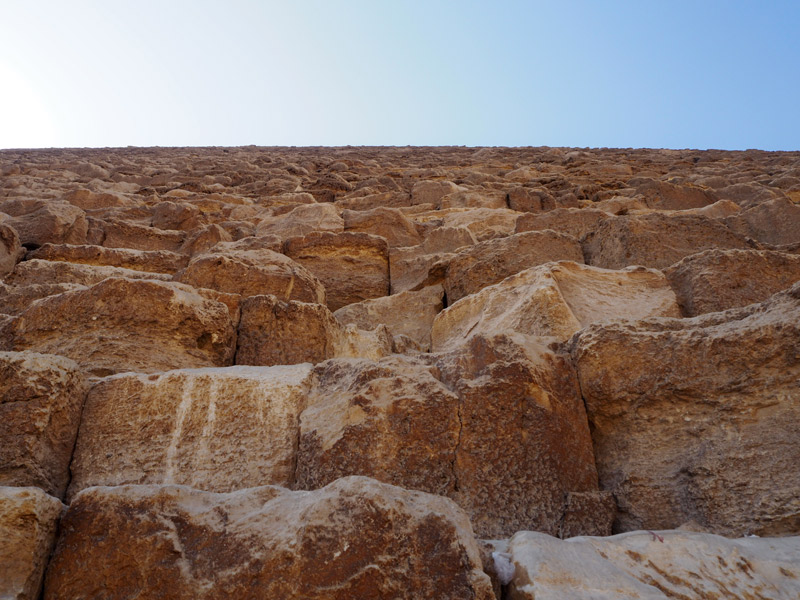 Bloques pirámide de Keops
