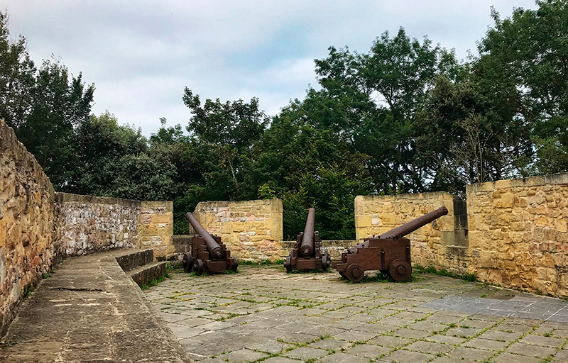 Cañones de Castillo de la Mota.