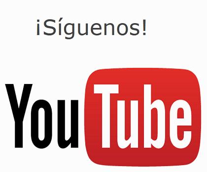 Youtube Síguenos invierte en ti